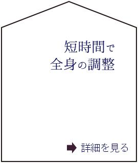 短時間で全身の調整(C)表参道・青山・原宿・渋谷エリアにある源保堂鍼灸院